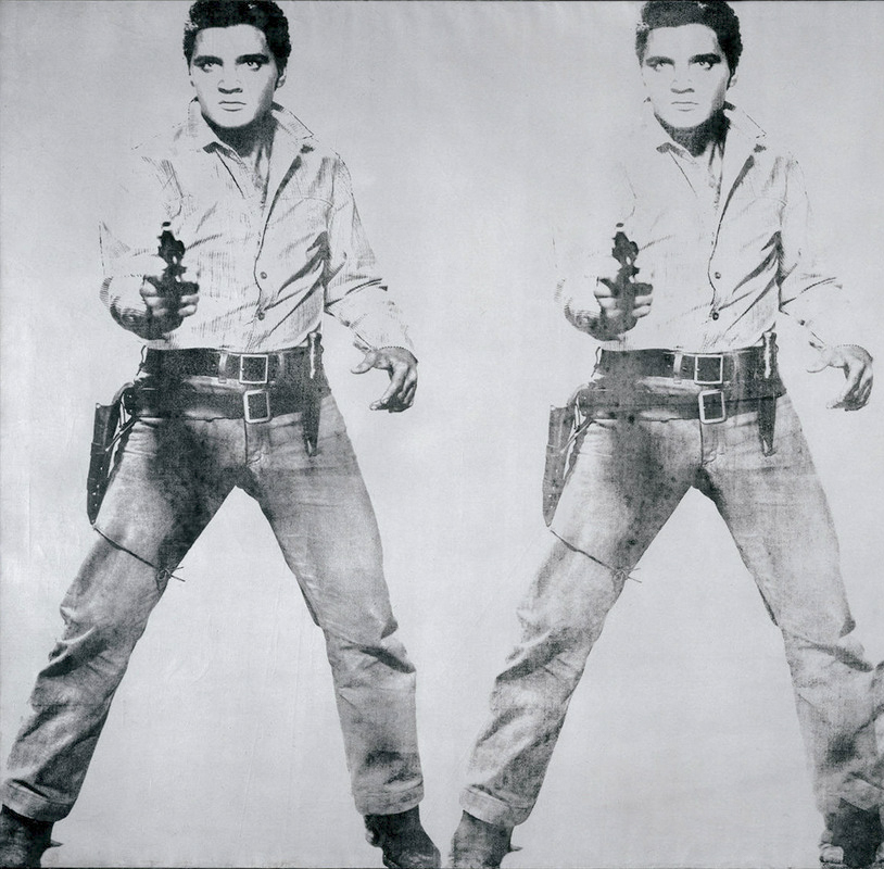 Elvis doble | Andy Warhol | Guggenheim Bilbao Museoa