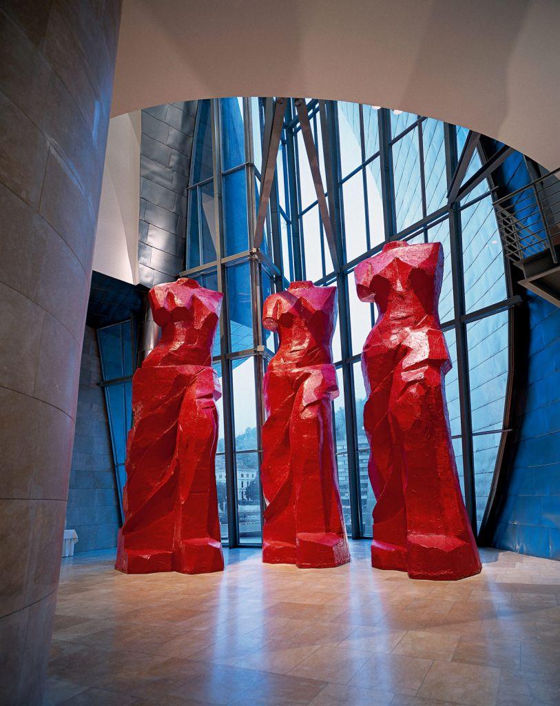 Tres Venus españolas rojas | Jim Dine | Guggenheim Bilbao Museoa