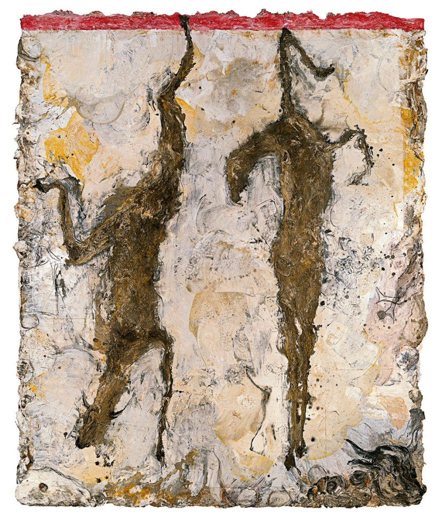 Male and gemale goats | Miquel Barceló | Guggenheim Bilbao Museoa
