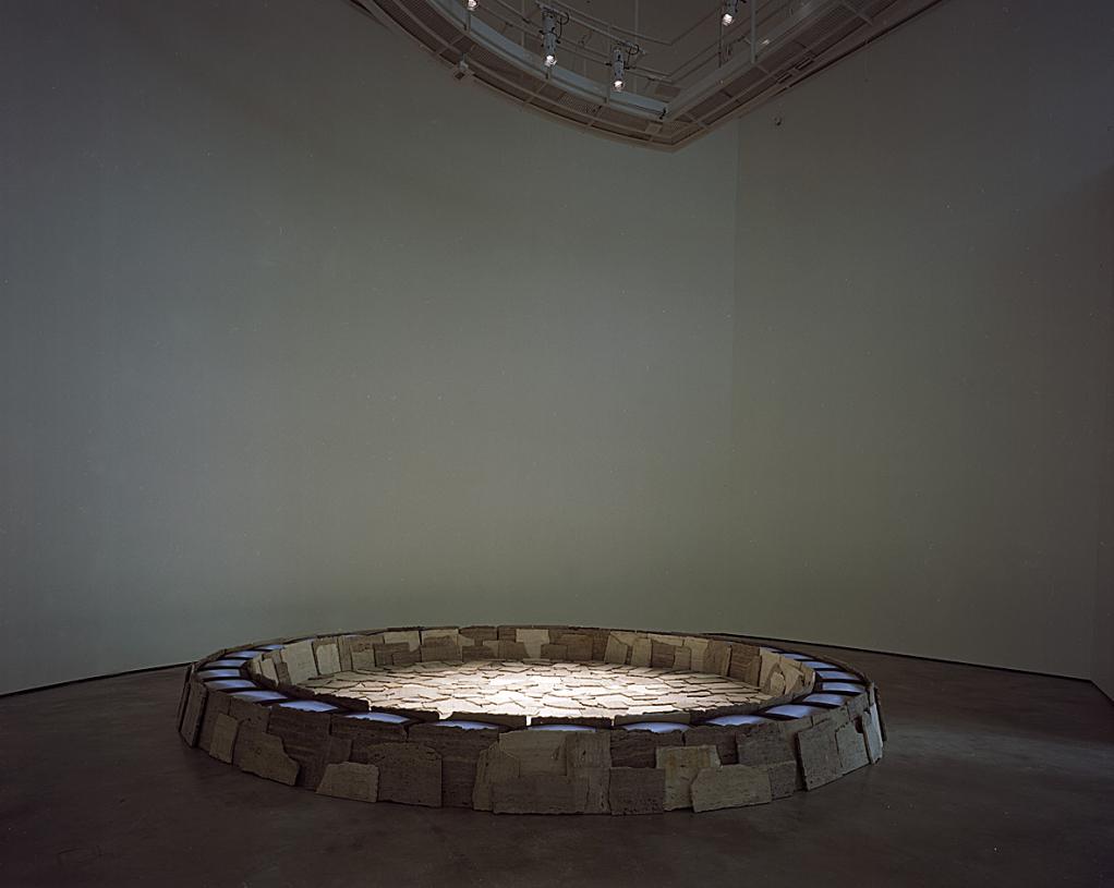 Roma II | Fabrizio Plessi | Guggenheim Bilbao Museoa