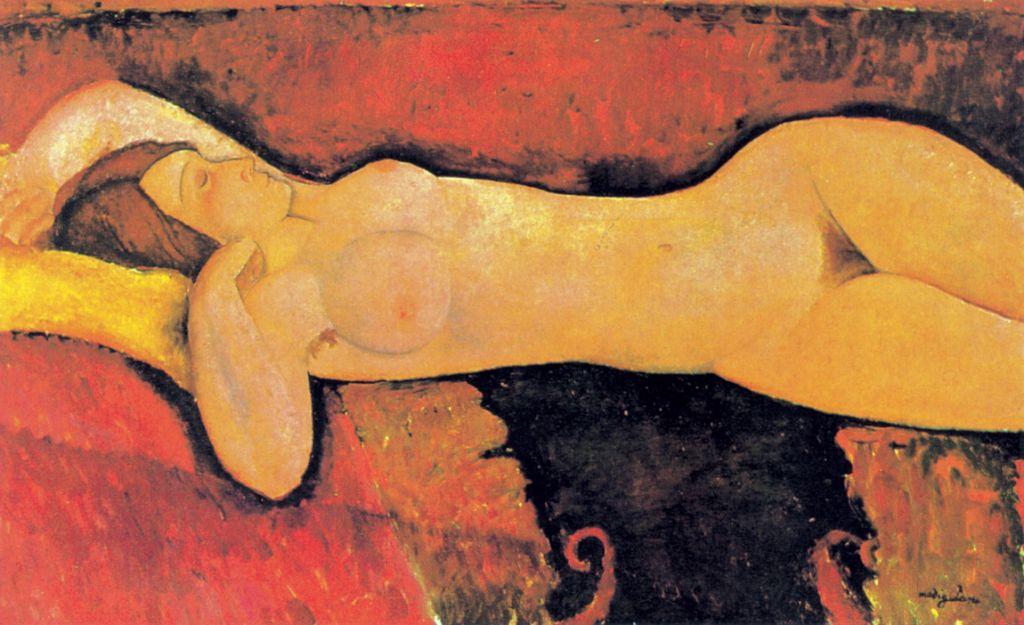 Le Grand Nu | Amedeo Modigliani | Guggenheim Bilbao Museoa