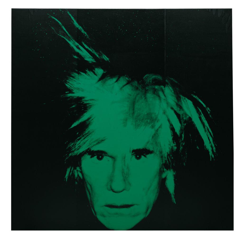Andy Warhol | Autorretratua | Guggenheim Bilbao Museoa