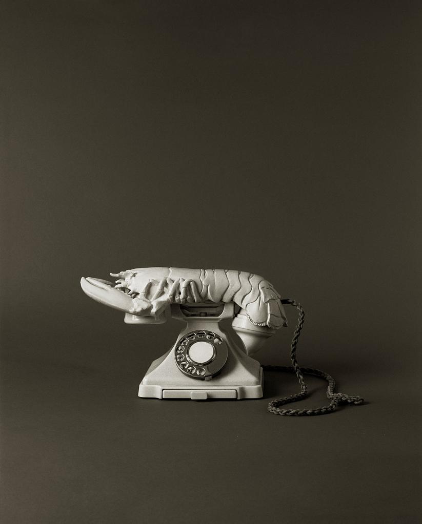 Téléphone aphrodisiaque blanc | Salvador Dalí | Guggenheim Bilbao Museoa