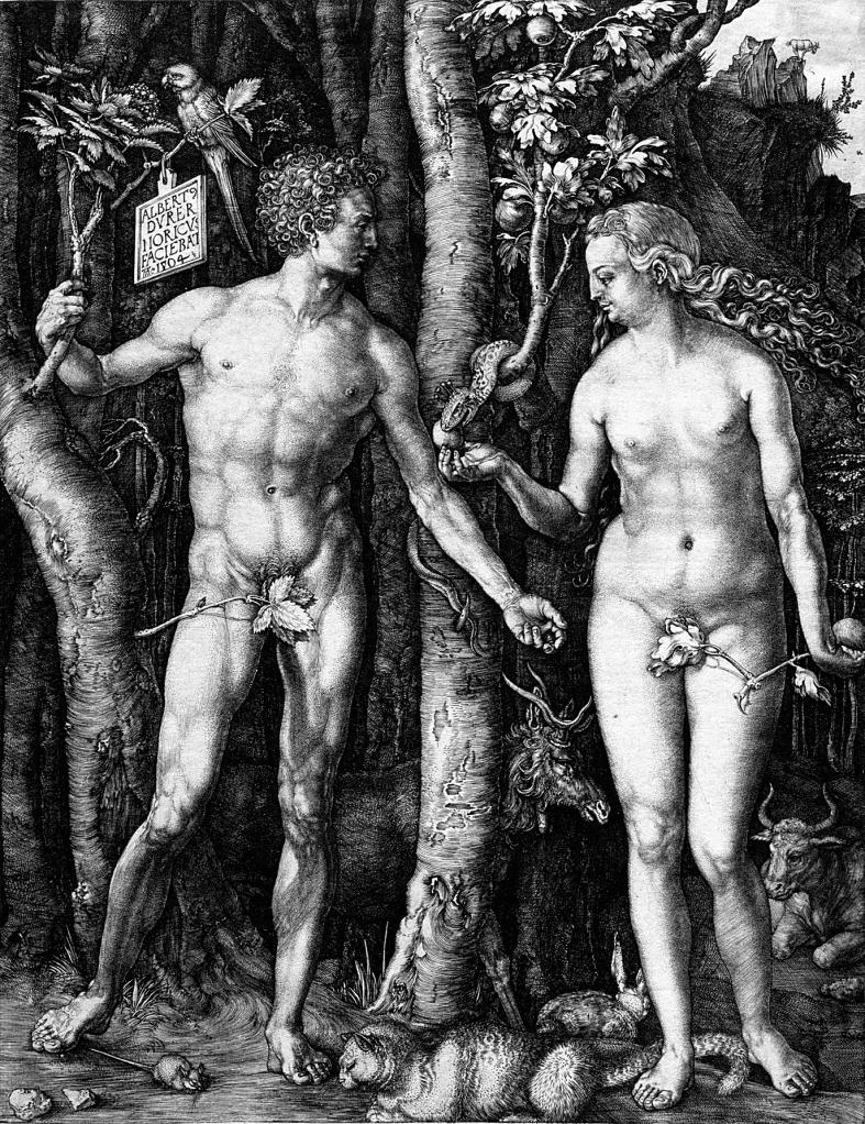 Adán y Eva | Alberto Durero | Guggenheim Bilbao Museoa