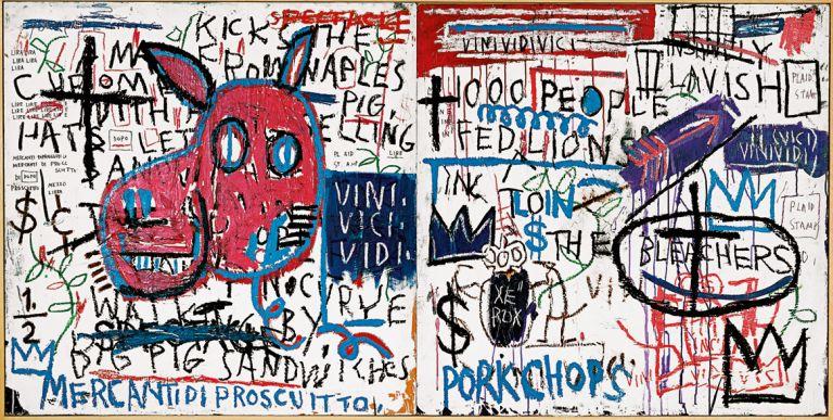 Napoliko gizona | Jean-Michel Basquiat | Guggenheim Bilbao Museoa