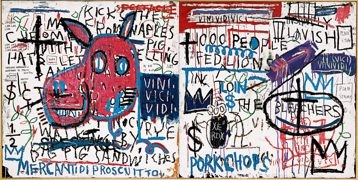 Man from Naples | Jean-Michel Basquiat | Guggenheim Bilbao Museoa