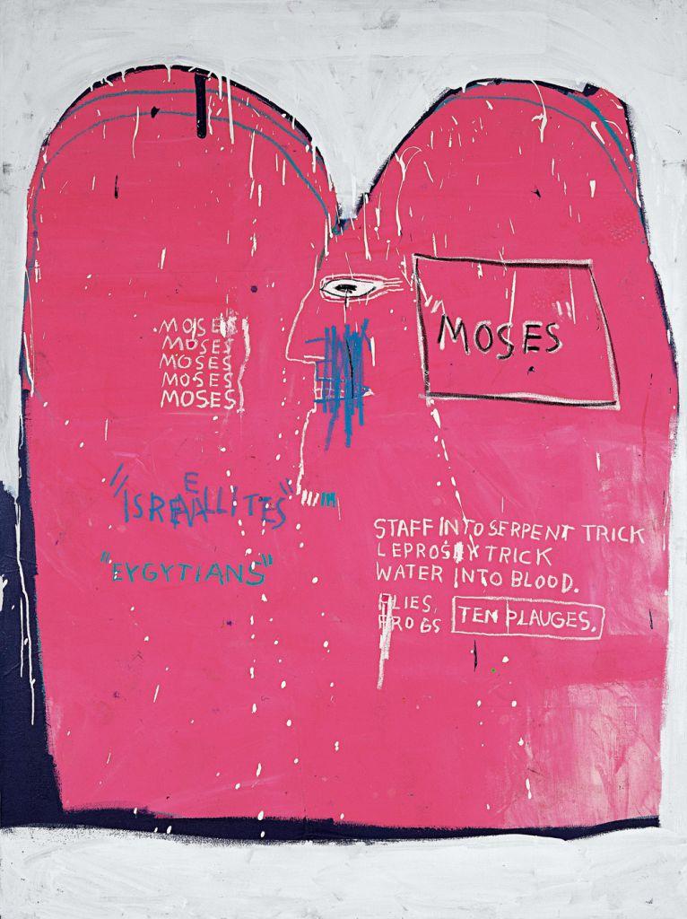 Moises eta egiptoarrak | Jean-Michel Basquiat | Guggenheim Bilbao Museoa