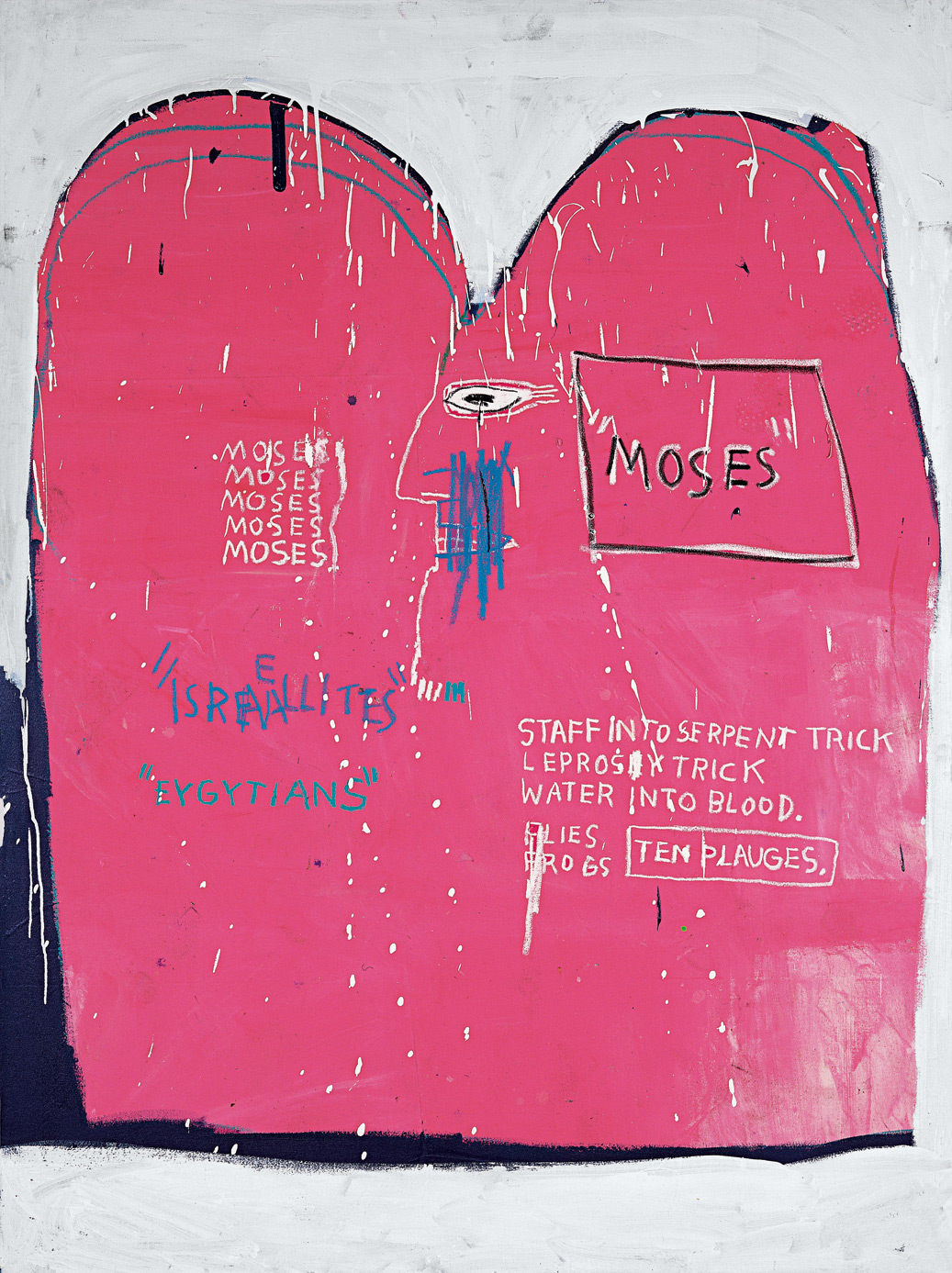 Moses and the egyptians | Jean-Michel Basquiat | Guggenheim Bilbao Museoa
