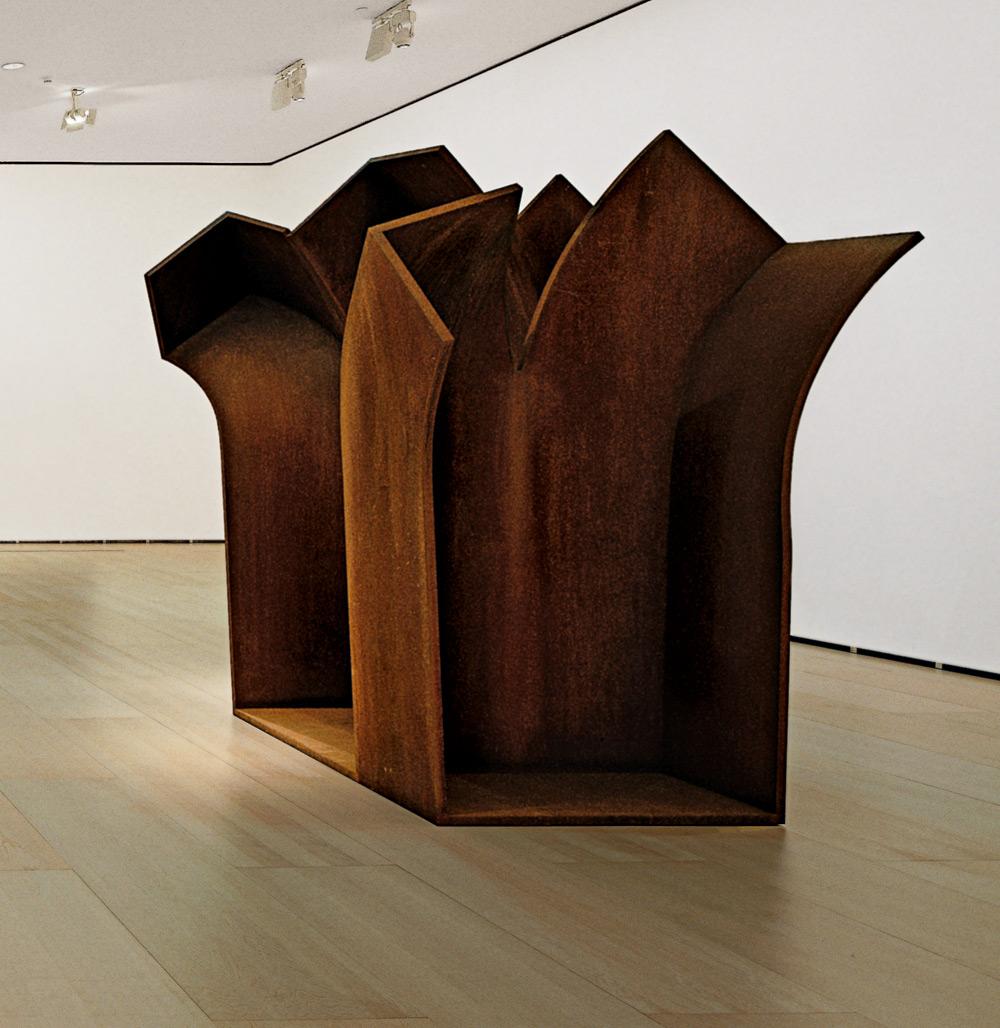 Aholkua espazioari V | Eduardo Chillida | Guggenheim Bilbao Museoa