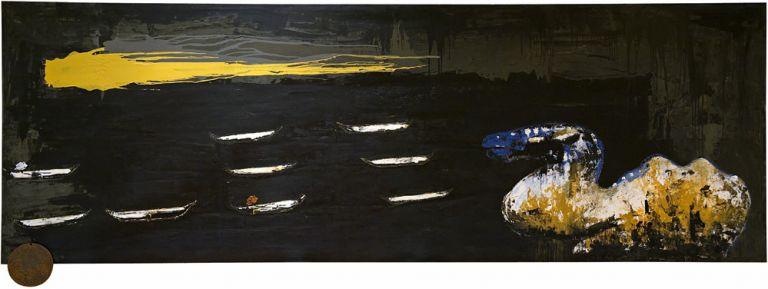 Depósito occidental | Enzo Cucchi | Guggenheim Bilbao Museoa