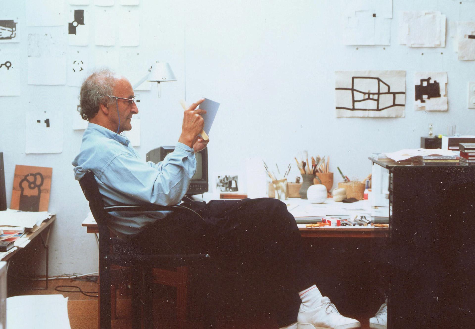 Eduardo Chillida | Artistas | Guggenheim Bilbao Museoa