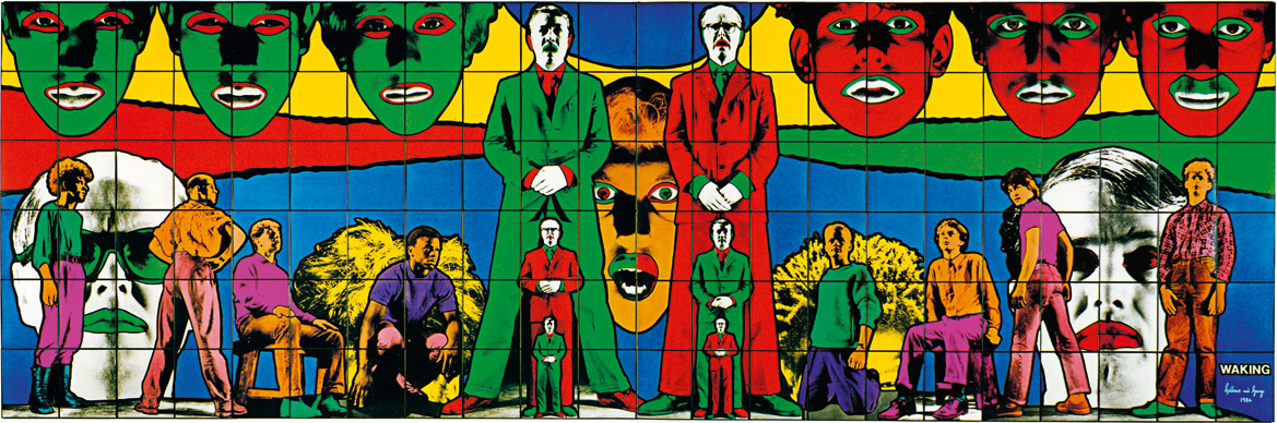 Despertándose | Gilbert and George | Guggenheim Bilbao Museoa