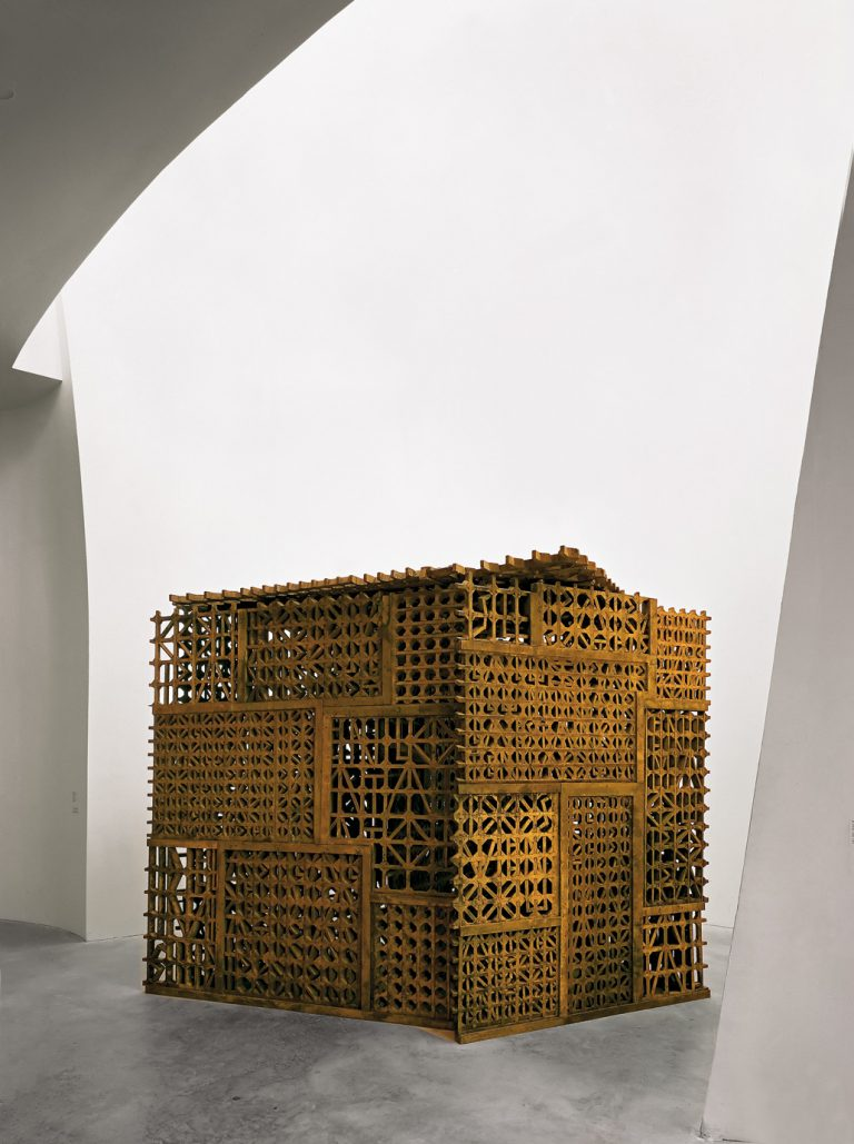 Titulurik gabea (Sareta II) | Cristina Iglesias | Guggenheim Bilbao Museoa