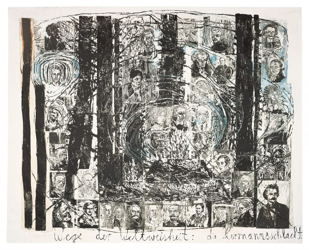 Los caminos de la sabiduría del mundo: la batalla de Hermann | Anselm Kiefer | Guggenheim Bilbao Museoa