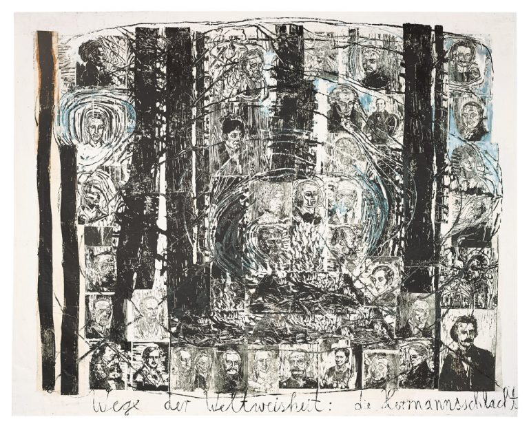The paths of world wisdom: Hermann's battle | Anselm Kiefer | Guggenheim Bilbao Museoa