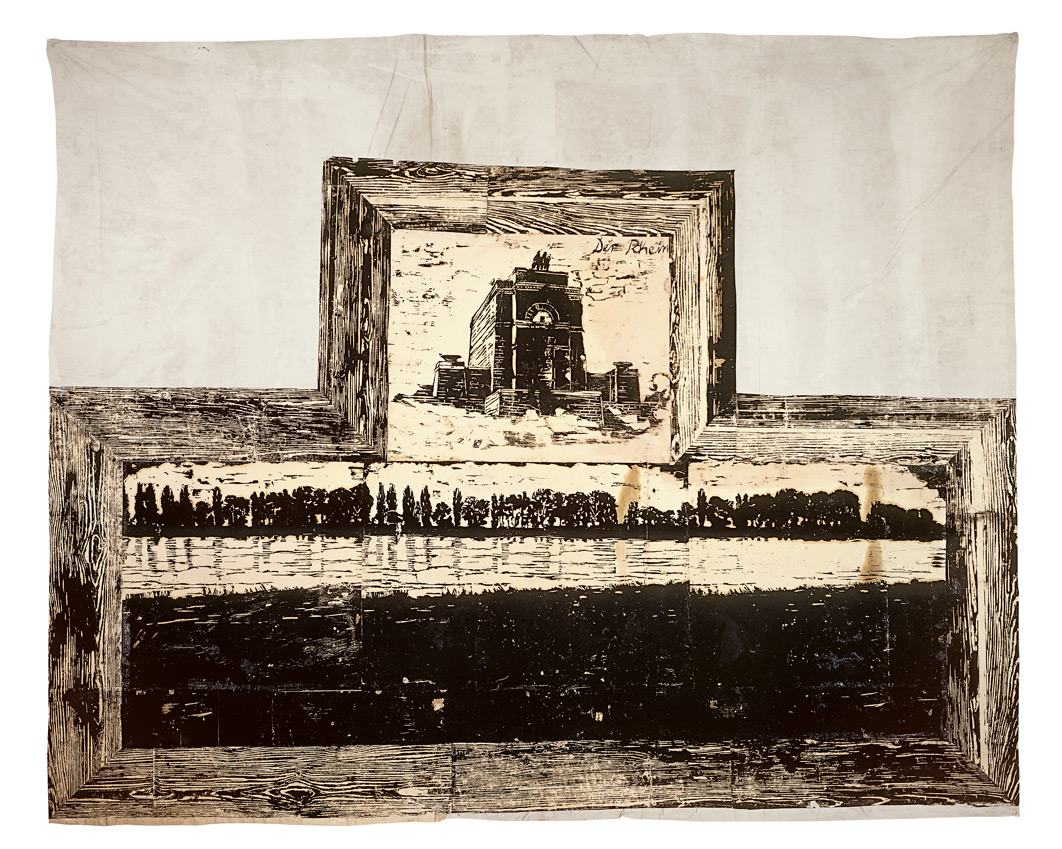 Sans titre (Le Rhin) | Anselm Kiefer | Guggenheim Bilbao Museoa