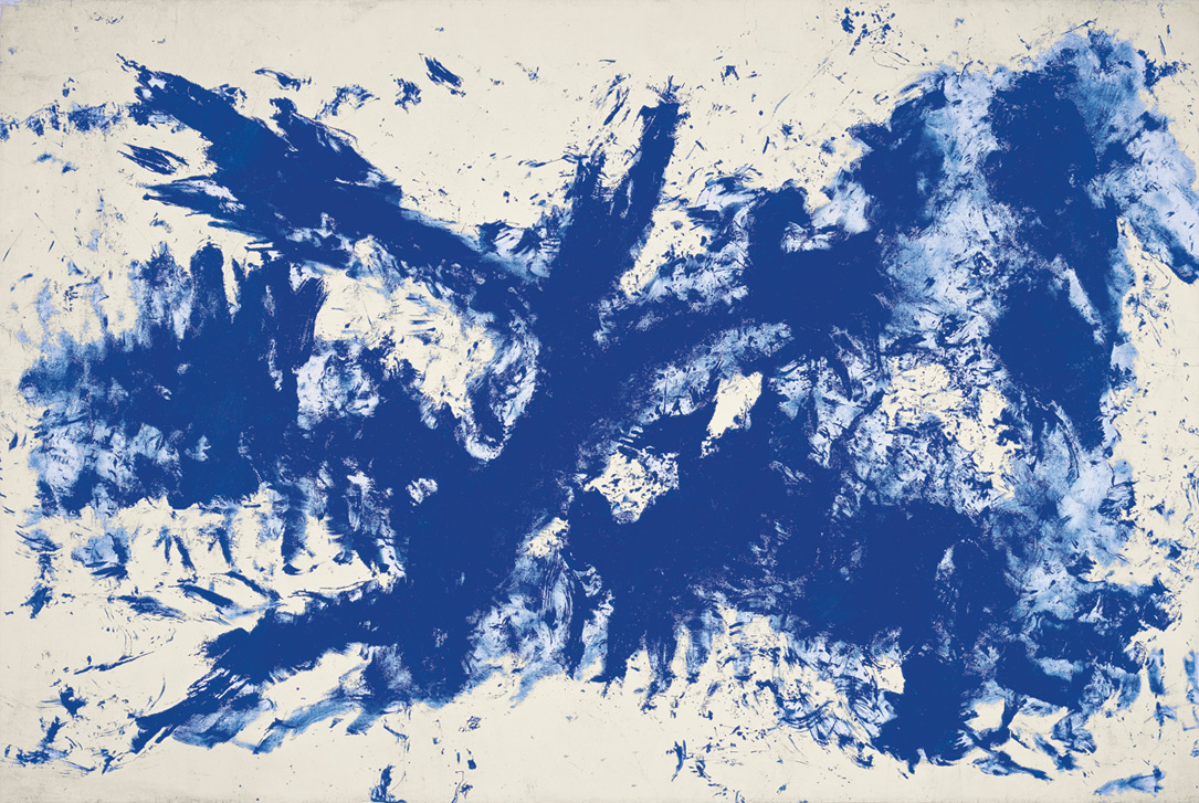 Large blue Anthropometry [ANT 105] | Yves Klein | Guggenheim Bilbao Museoa