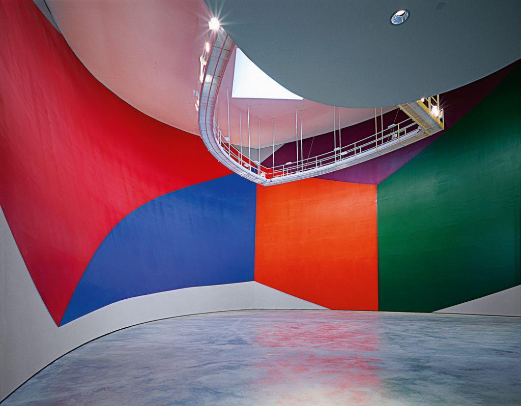 Horma-irudia 831. zk. (Forma geometrikoak) | Sol LeWitt | Guggenheim Bilbao Museoa