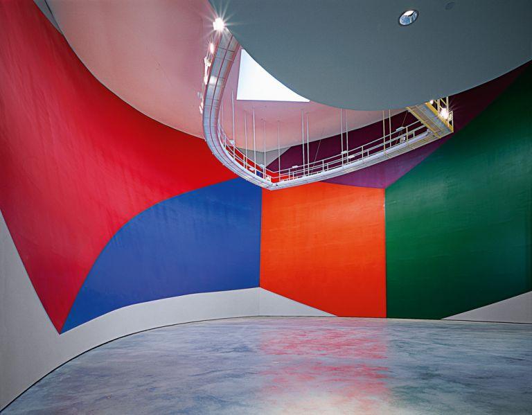 Wall drawing #831 (Geometric forms) | Sol LeWitt | Guggenheim Bilbao Museoa