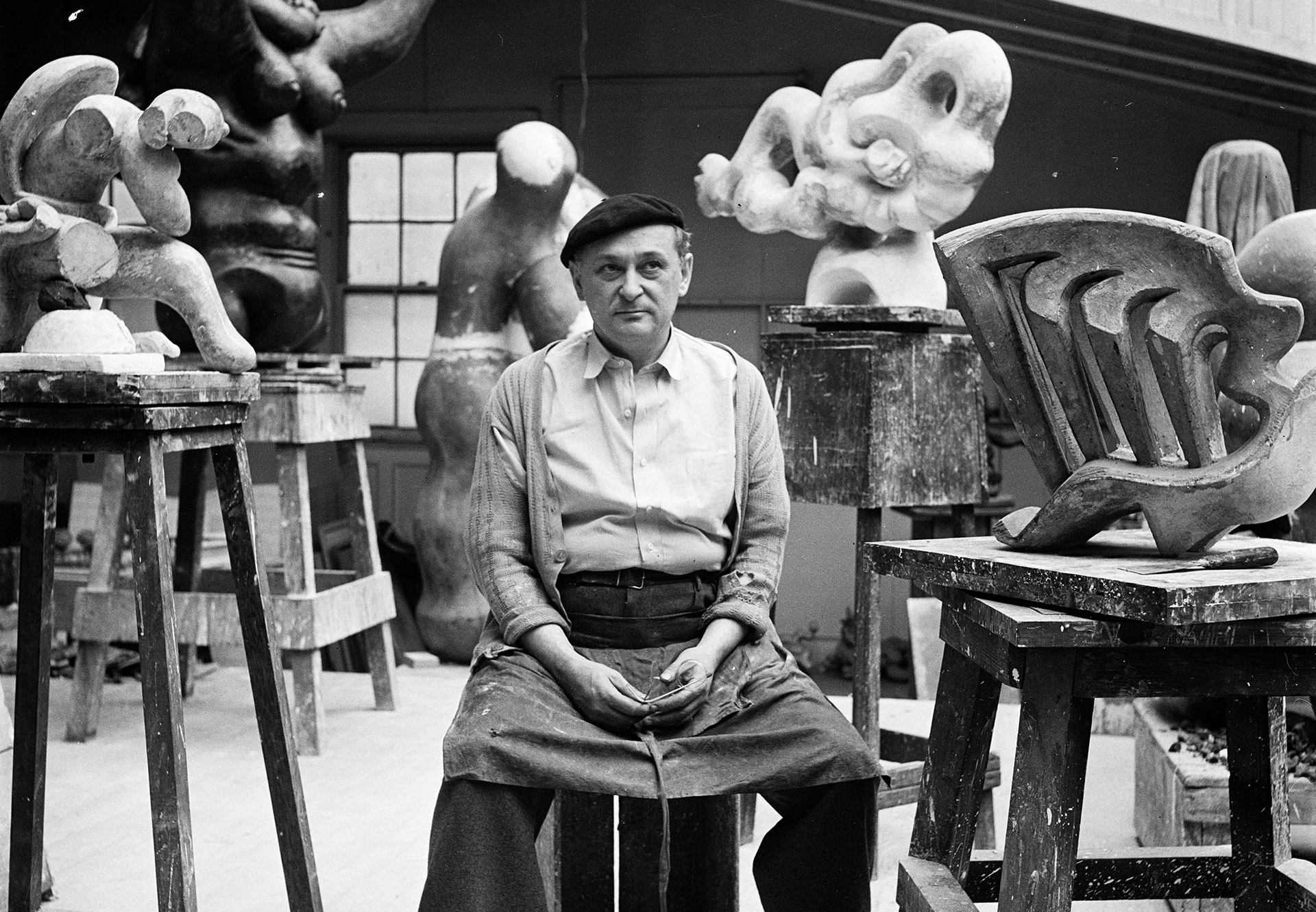 Jacques Lipchitz | Artistas | Guggenheim Bilbao Museoa