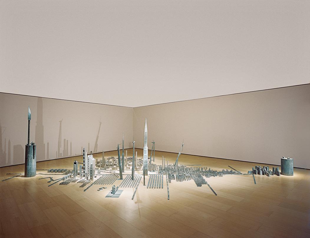 Wall city | Miquel Navarro | Guggenheim Bilbao Museoa