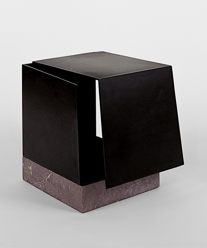 Metaphysical box by conjuction of two trihedrons. Homage to Leonardo | Jorge Oteiza | Guggenheim Bilbao Museoa