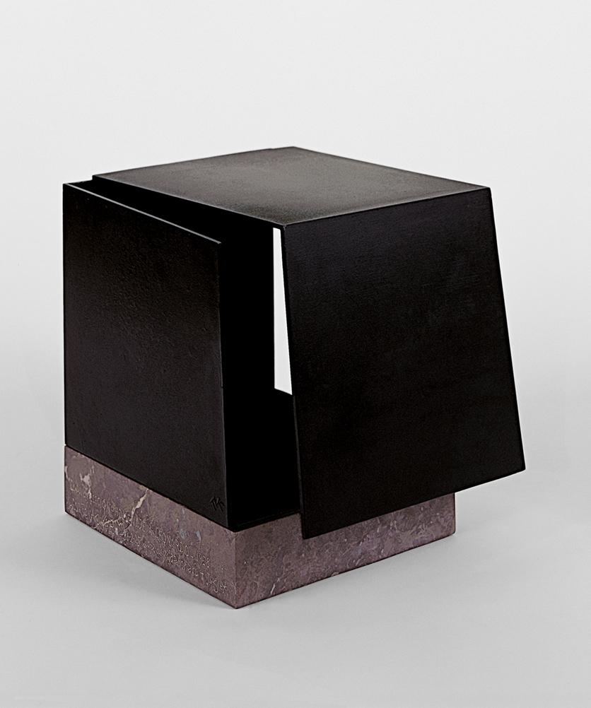 Caja metafísica por conjunción de dos triedros. Homenaje a Leonardo | Jorge Oteiza | Guggenheim Bilbao Museoa