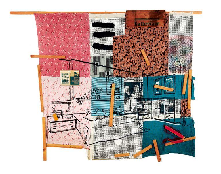 La erección matutina de Kathreiner | Sigmar Polke | Guggenheim Bilbao Museoa