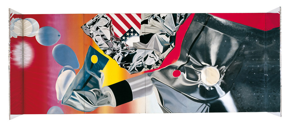 Flamenko kapsula | James Rosenquist | Guggenheim Bilbao Museoa