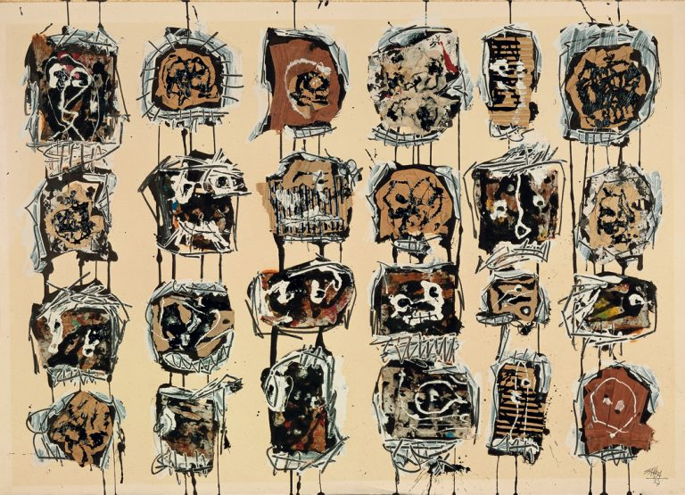 24 cabezas | Antonio Saura | Guggenheim Bilbao Museoa
