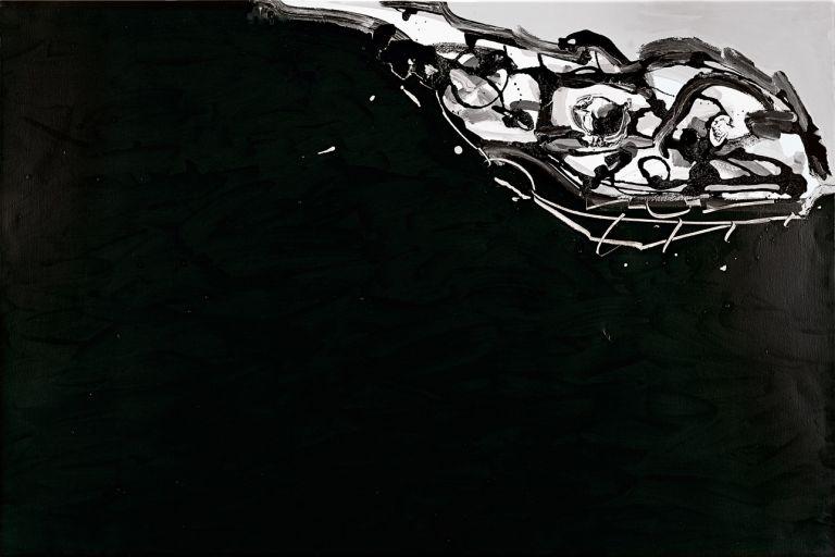 Portrait imaginaire de Goya | Antonio Saura | Guggenheim Bilbao Museoa
