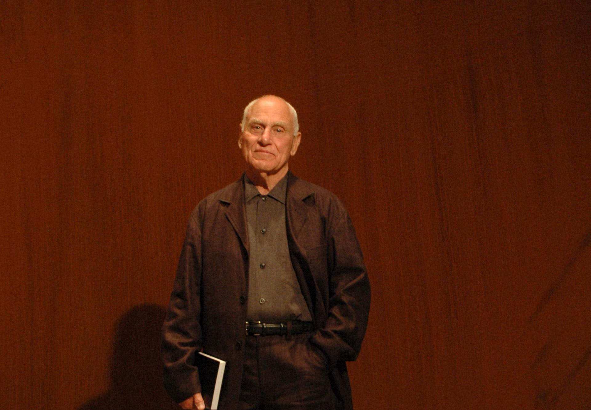 Richard Serra | Artistas | Guggenheim Bilbao Museoa