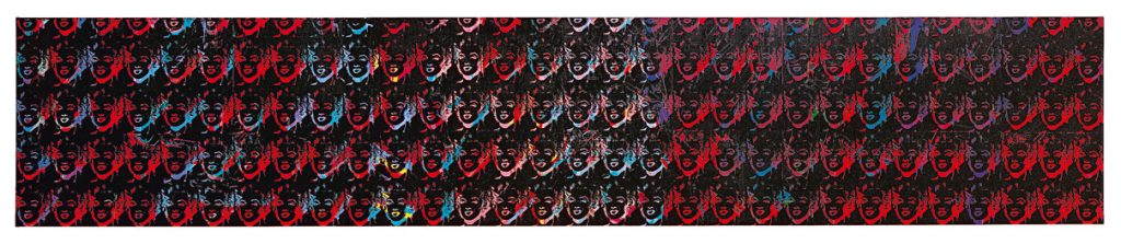 One hundred and fifty multicolored Marilyns | Andy Warhol | Guggenheim Bilbao Museoa