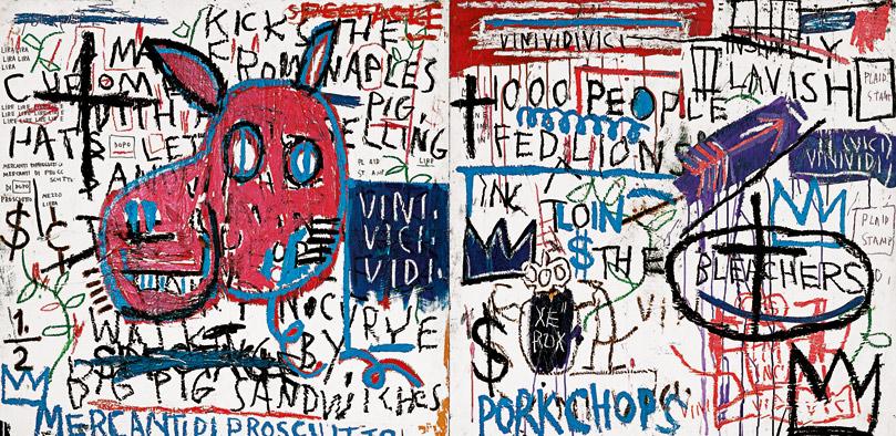 El hombre de Nápoles | Jean-Michel Basquiat | Guggenheim Bilbao Museoa