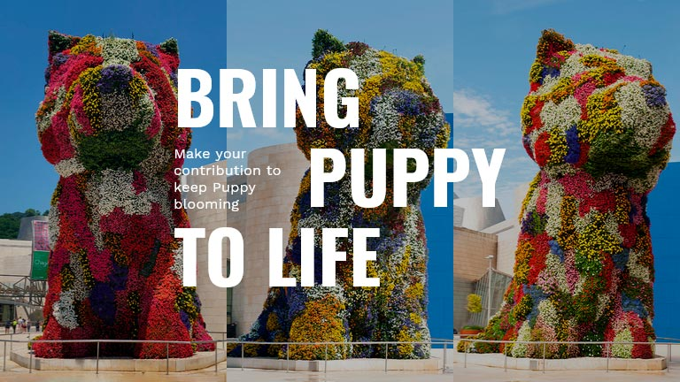 bring puppy to life