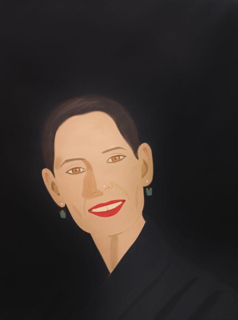 Ursula irribarrez II | Alex Katz | Guggenheim Bilbao Museoa