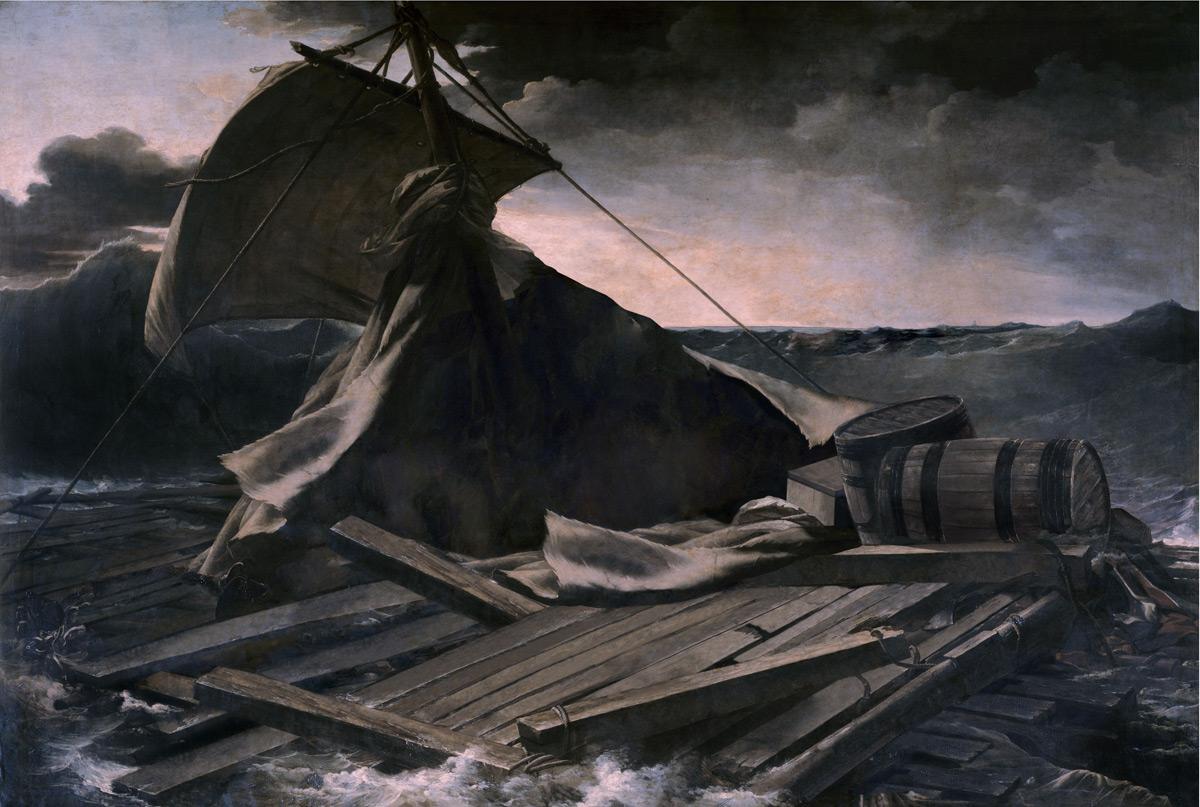 Le radeau de la Méduse | José Manuel Ballester | Guggenheim Bilbao Museoa