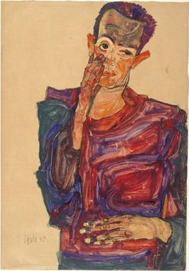 self portrait schiele 273x342