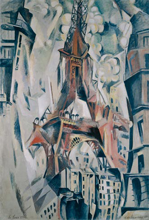 Torre Eiffel Delaunay 300x443