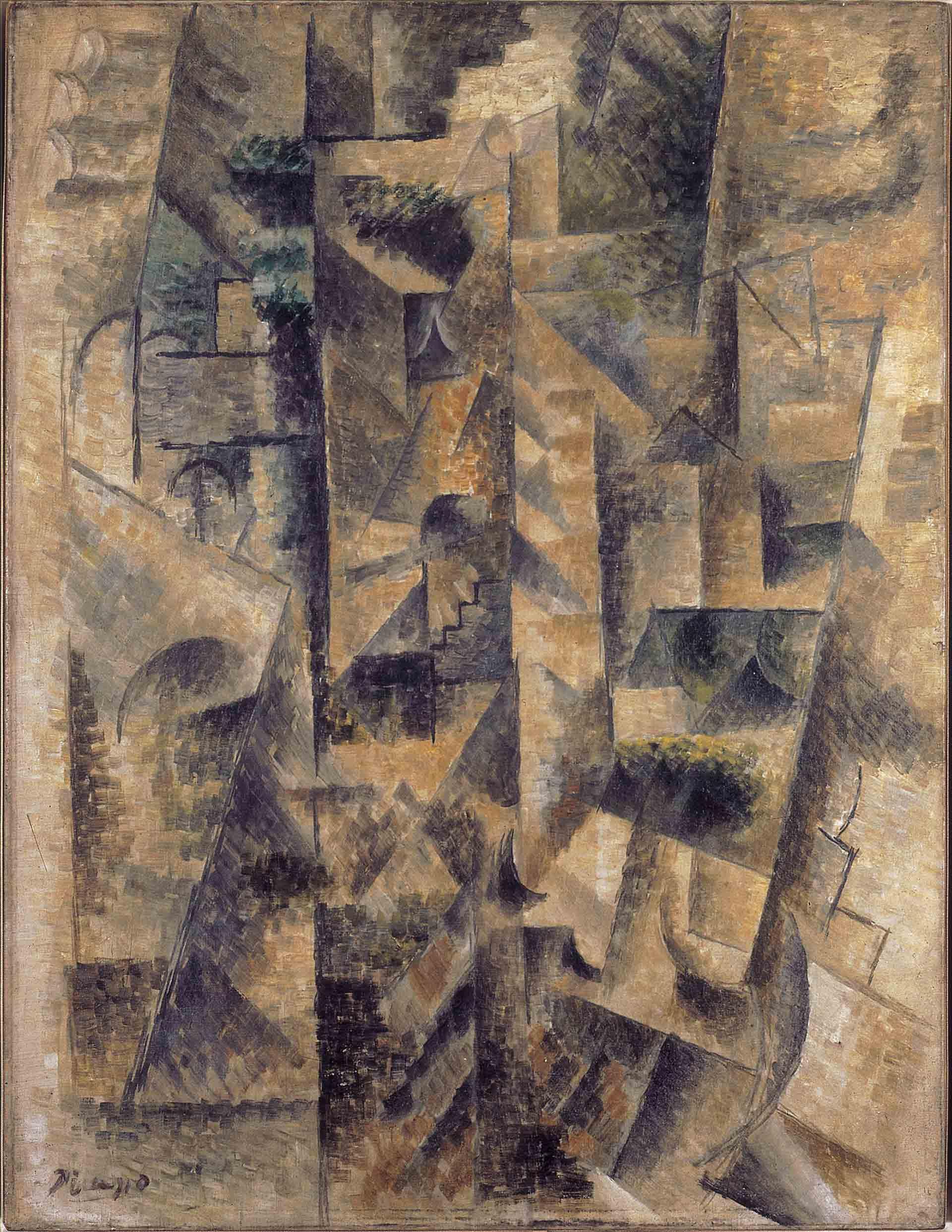 Pablo Picasso, Paisaje de Céret