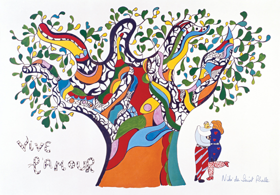 Viva el amor | Niki de Saint Phalle | Guggenheim Bilbao Museoa