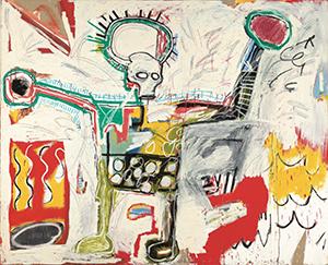 Jean Michel Basquiat UNTITLED 1982 Boijmans cropped Zoom