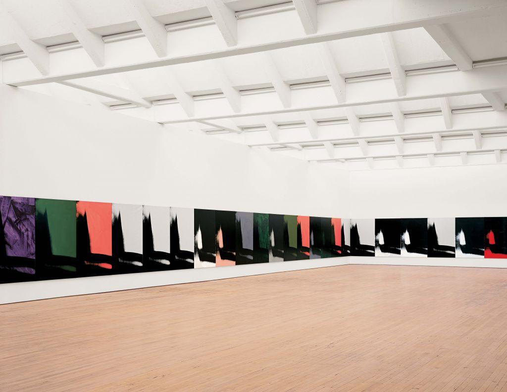 Sombras | Andy Warhol | Guggenheim Bilbao Museoa