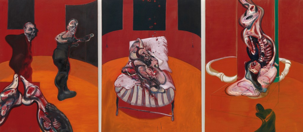 Tres estudios para una crucifixión   Francis Bacon   Guggenheim Bilbao Museoa