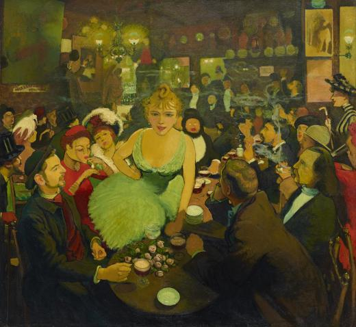 Chez Bruant barruan: Le Mirliton