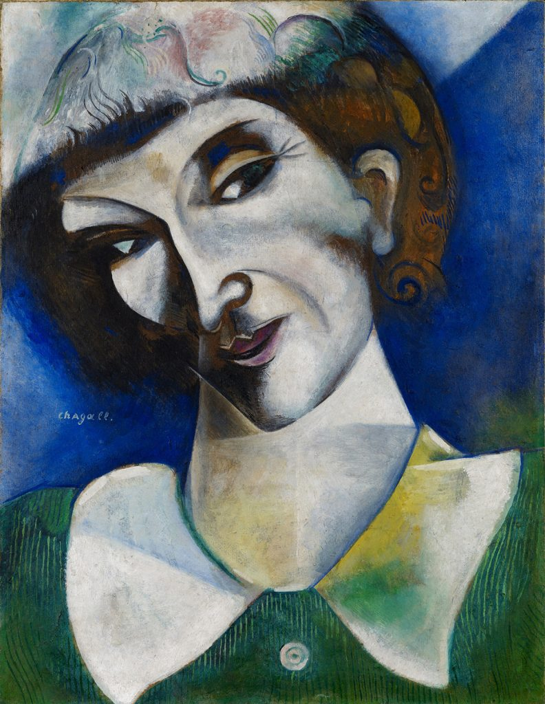 Autorretrato | Marc Chagall | Guggenheim Bilbao Museoa