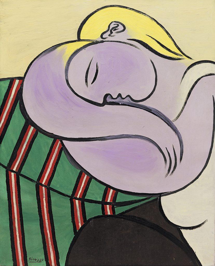 Mujer con el cabello amarillo   Pablo Picasso   Guggenheim Bilbao Museoa