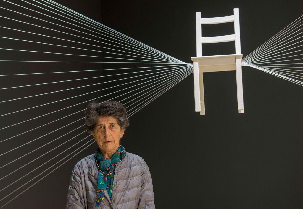Esther Ferrer Artistas   Guggenheim Bilbao Museoa