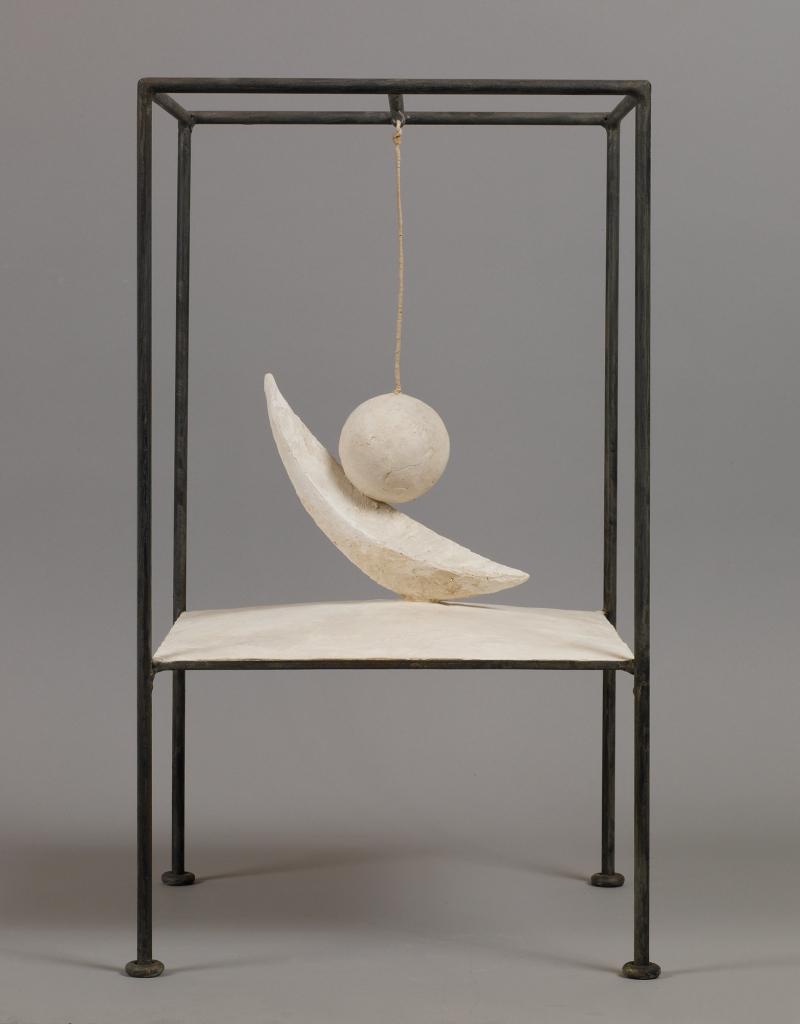 Bola Suspendida | Obras | Alberto Giacometti | Guggenheim Bilbao Museoa