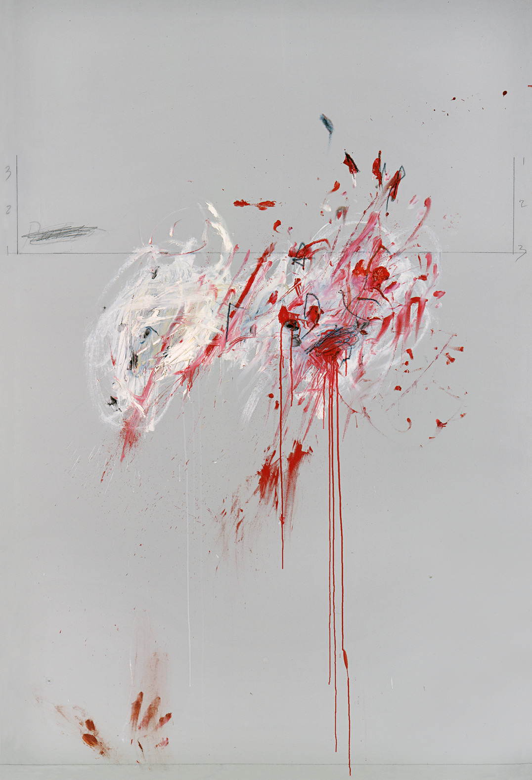 Nine Discourses on Commodus, Part III | Cy Twombly | Guggenheim Bilbao Museoa